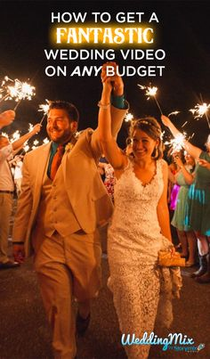 Whatever your wedding budget, every couple can now afford a fantastic wedding video. Use the WeddingMix app and HD cameras to collect every guests' photos & videos - then our pro-editors turn that footage into a keepsake video. #weddingvideo #budgetwedding