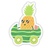 Summer Drive Sticker