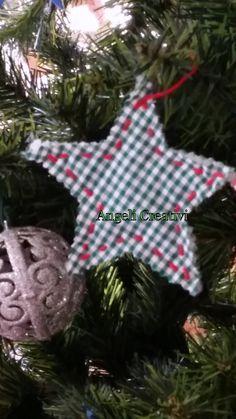 Decorazione natalizia in cotone