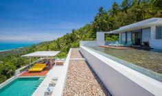 White Design Villa 2   Koh Samui - Luxus auf mehreren Ebenen