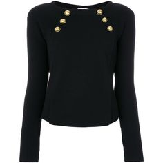 Shop Red Valentino Bolted Boat Neck Sweater at Modalist |... ($650) ❤ liked on Polyvore featuring tops and sweaters