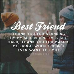 """True Friendship Quotes – Best Friends Forever Quotes """"True friends aren't the ones who make your problems disappear. Best Friends Forever Quotes, Besties Quotes, Cute Quotes, Funny Quotes, Bestfriends, True Best Friend Quotes, Thank You Best Friend, Smile Quotes, Best Friend Stuff"""