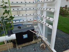 The Hydroponic, Automated, Networking, Climate Controlled Greenhouse Project Update (July - Instructables Hydroponics System, Hydroponic Gardening, Gardening Tips, Aquaponics, Room Cooler, Climate Control, Tall Plants, How To Grow Taller, Grow Lights
