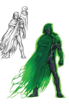 """Images for : EXCLUSIVE: Howard Porter's """"Justice League 3000"""" Sketchbook Pages - Comic Book Resources"""