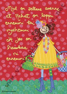Tää teksti tuli koukkusen ohjelmistoon Roskilden festareilla :) Täl asenteel rokattiin!