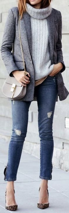 Casual blazer outfit for women (38)