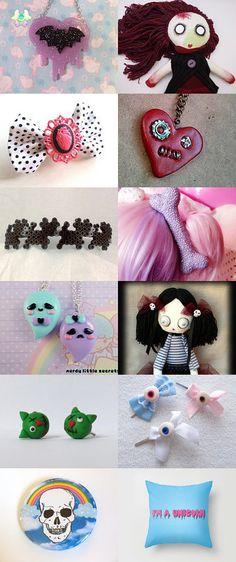 Creepy Cute items by Katie Joy on Etsy--Pinned with TreasuryPin.com