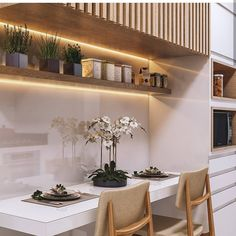 23 Clever DIY Christmas Decoration Ideas By Crafty Panda Modern Kitchen Design, Interior Design Living Room, Living Room Designs, Home Decor Kitchen, Rustic Kitchen, Design Rustique, Cuisines Design, Luxury Kitchens, Kitchen Colors