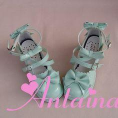 ◢ an * tai * na * ◣ LOLITA bow princess shoes fashion shoes new 9812-1 - Taobao