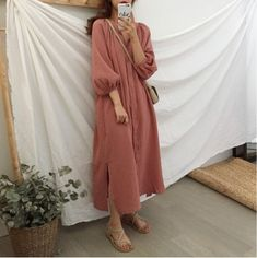 Modest Wear, Modest Dresses, Modest Outfits, Simple Dresses, Chic Outfits, Street Hijab Fashion, Muslim Fashion, Modest Fashion, Fashion Dresses