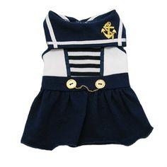 Sail Away Sailor Dress