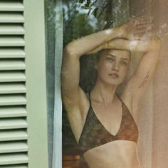 Fendi bikini top – Karman Pedaru for Harper's Bazaar Spain