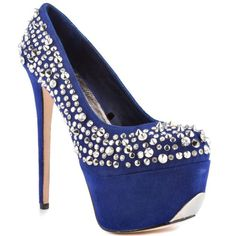 ZiGiny Women's Brink Pump,Royal Blue Suede,7 US/7 M US >>> Check out the image by visiting the link.