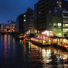 Kanda River, Asakusabashi.