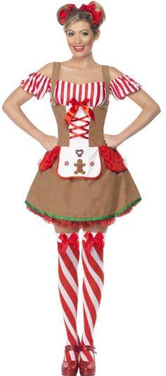 Gingerbread Ladies Costume