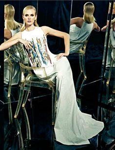 Harper's Bazaar Kazakhstan April 2015 | Anne Vyalitsyna | Hao Zeng