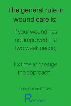 The general rule in wound care is- (1)