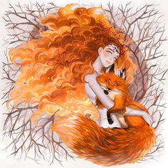 I Create Colorful Digital Illustrations With Fairy Tale Motives
