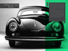 Interactive Book / Porsche Speedster 356 by martin liveratore, via Behance
