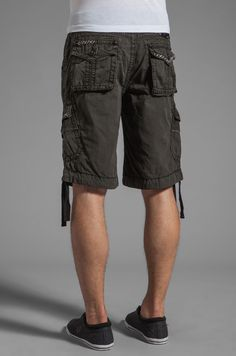 3b8946726f ROCK REVIVAL JEANS NWT Buckle Cheap Sale Mid Rise Grey Classic Cargo Shorts  42 #RockRevival