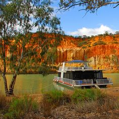 South Australia has a lot of good spots, like house-boating down the river Murray.  But we're partial,  this is home #southaustralia #good
