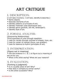High School Art Worksheets , art worksheets from high school, feuilles d'art du High School Art, Middle School Art, Documents D'art, Programme D'art, Art Fauvisme, Art Analysis, Art Doodle, Classe D'art, Elementary Art