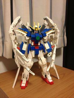 [LEGO] Wing Gundam Zero & Strike Freedom!