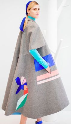 Delpozo Fall/Winter 2015 - Backstage at Moda Operandi