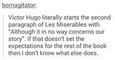 Oh, Hugo...
