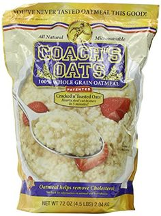 Coachs Oats 100 Whole Grain Oatmeal 9 lb Pack * Want additional info? Click on the image.