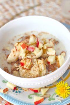 Overnight Apple Cider Quinoa Breakfast Cereal