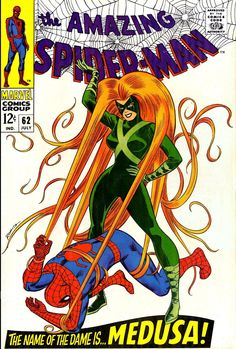 The Amazing Spider-Man #62, July 1968, cover by John Romita
