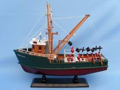 Wooden Andrea Gail - The Perfect Storm Model Boat