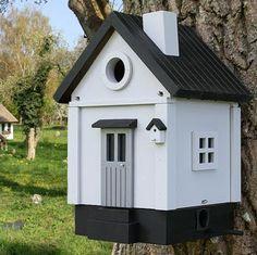 Tulip: Fuglekasse og postkasse i stil med huset ditt