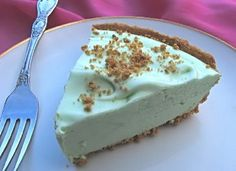 Key Lime Pie (Weight Watchers) 3 pts per slice...I used to LOVE this recipe!!!
