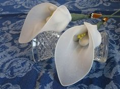Calla classica --    Calla confetti flower - with 5 confetti
