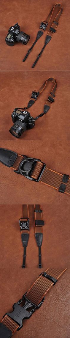 Ninja Style Coffee Sony Nikon Canon Handmade Leather Camera Strap…