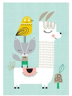 Lama&Friends Poster