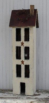 Large 4 Story Primitive House