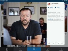 Ricky Gervais, Men, Fictional Characters, Guys, Fantasy Characters