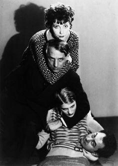 Marie Ernst, Max Ernst, Lee Miller & Man Ray.