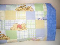 Sleeping Winnie the Pooh and Gang Kids/Travel PIllowcase | MadeAtNanas - Housewares on ArtFire