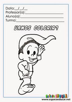 atividade+colorir+turma+da+mônica+folclore+desenho+pintar+www.espacoeducar+(3).jpg (1131×1600)