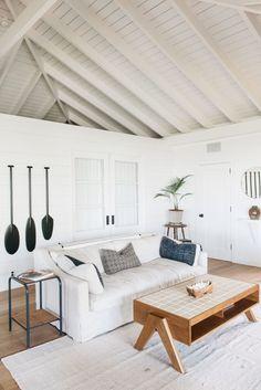 Roberto Sosa Beach House Living Area