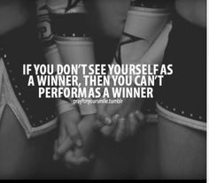 Cheerleading quotes| ✋Believe in not just yourself but believe in your team✋