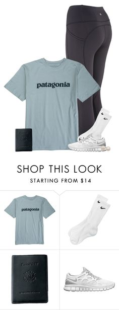 """day 6!!!!!!"" by conleighh ❤ liked on Polyvore featuring Patagonia, NIKE, Royce Leather, Honora and lkasummercruisecontest"