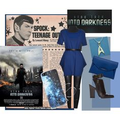 Star Trek into Darkness is coming!! Spock Set by dsstyles on Polyvore http://www.polyvore.com/cgi/set?id=82283097