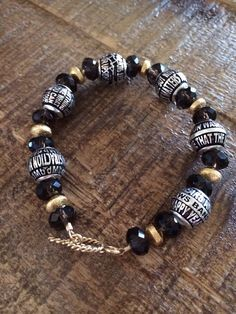 DMB lyric bead bracelet