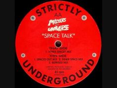 Masters Of The Universe - Space Talk (Hyper Spaced Mix) Quality 1989 House track from Dave Lee (Joey Negro) & Mark Ryder. Sound Of The Underground, Underground Homes, Mark Ryder, Detroit Techno, Deep House Music, Old School House, Classic House, Dance Music, 4 Life