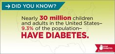 It's Fact Check Friday! Time to set the record straight about #diabetes. Pass it on! #FridayFact